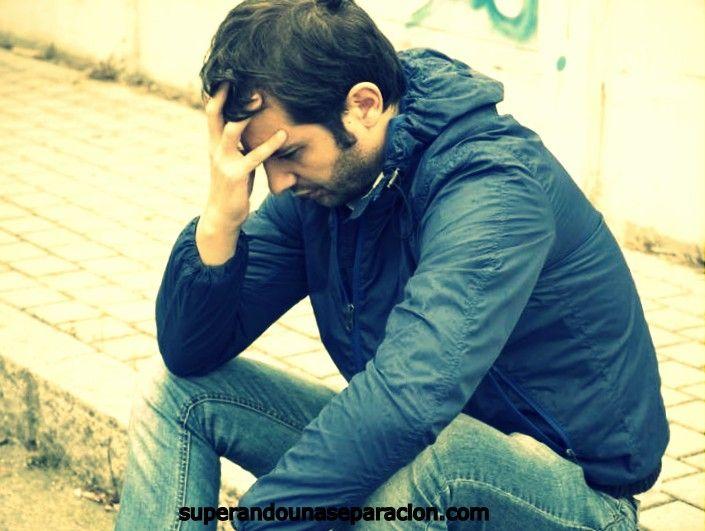 Como sufren los hombres una ruptura amorosa