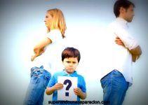 Como superar un divorcio con hijos pequeños